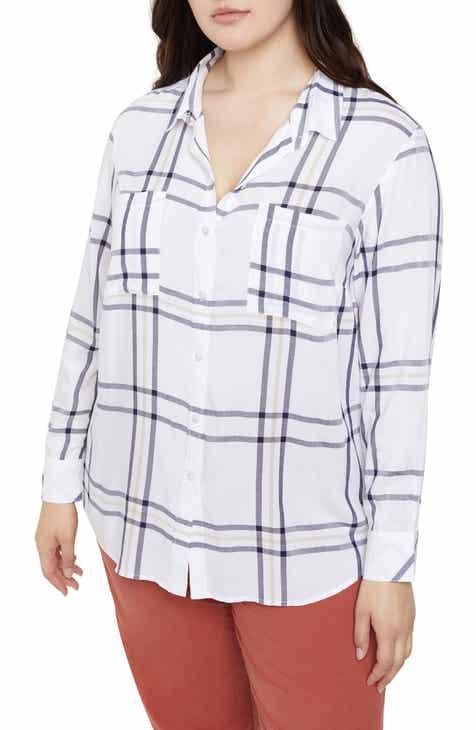 Sanctuary Favorite Boyfriend Shirt (Plus Size)