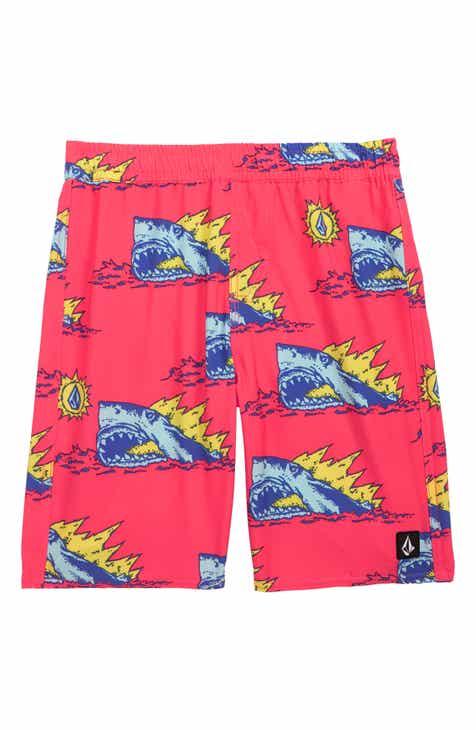 a127b46b56 Volcom Duhh Dunt Swim Trunks (Toddler Boys & Little Boys)