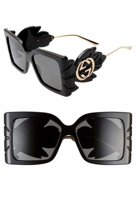 8174892a0474a Gucci 56mm Square Sunglasses.  1