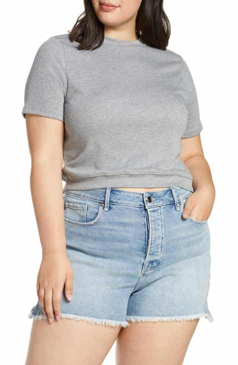 b256d22aba876 BP. Mock Neck Crop Tee (Plus Size)