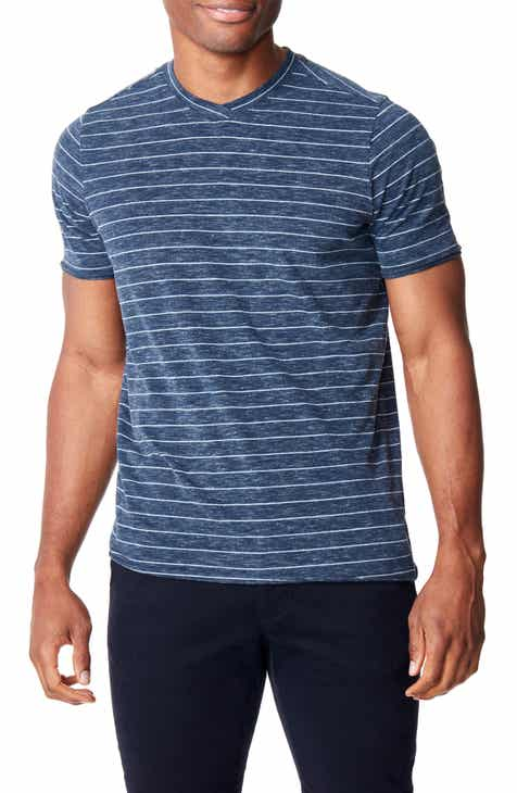 1fb82a8c9fe Good Man Brand Slim Fit Heather Stripe Jersey T-Shirt