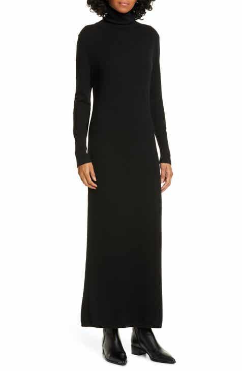 Nili Lotan Cassandra Long Sleeve Cashmere Turtleneck Dress