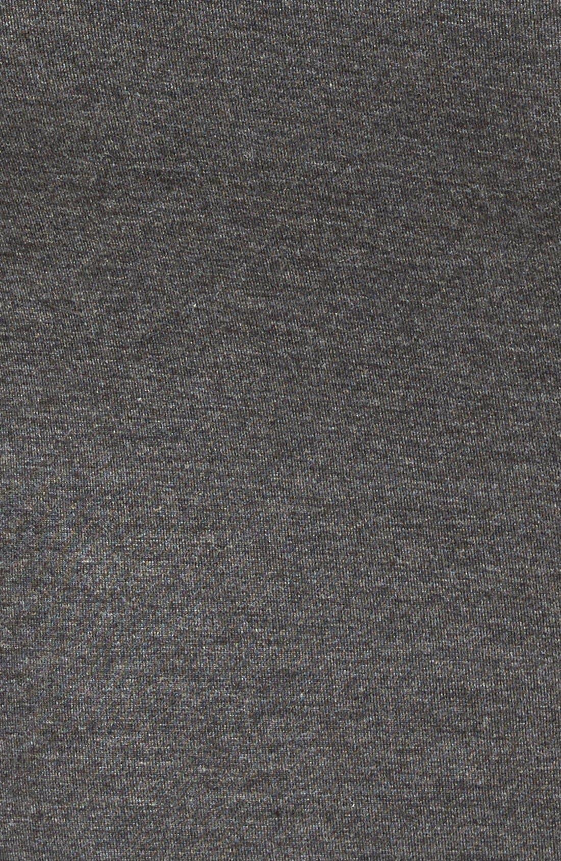 Alternate Image 3  - Leith Mock Neck Midi Dress