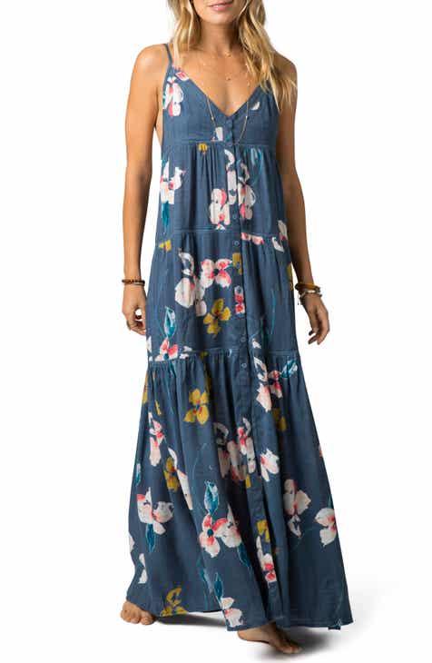 Rip Curl Beach Bella Floral Maxi Dress