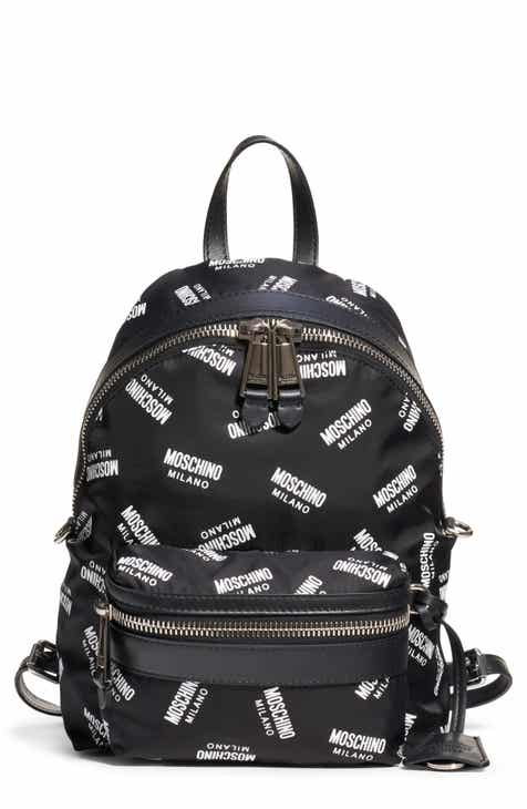431a43089c Moschino Logo Nylon Backpack