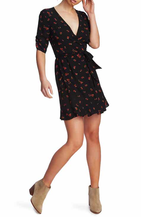 136d224c7566 STATE Woodland Floral Print Wrap Dress