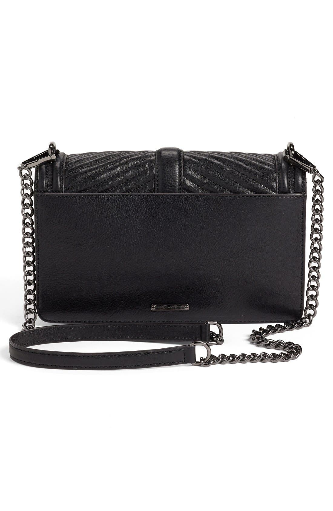 Alternate Image 3  - Rebecca Minkoff 'Chevron Quilted Love' Crossbody Bag