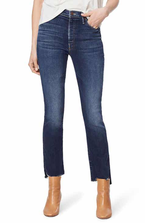 MOTHER The Insider High Waist Crop Step Fray Jeans (Sweet & Sassy) Coupon Code