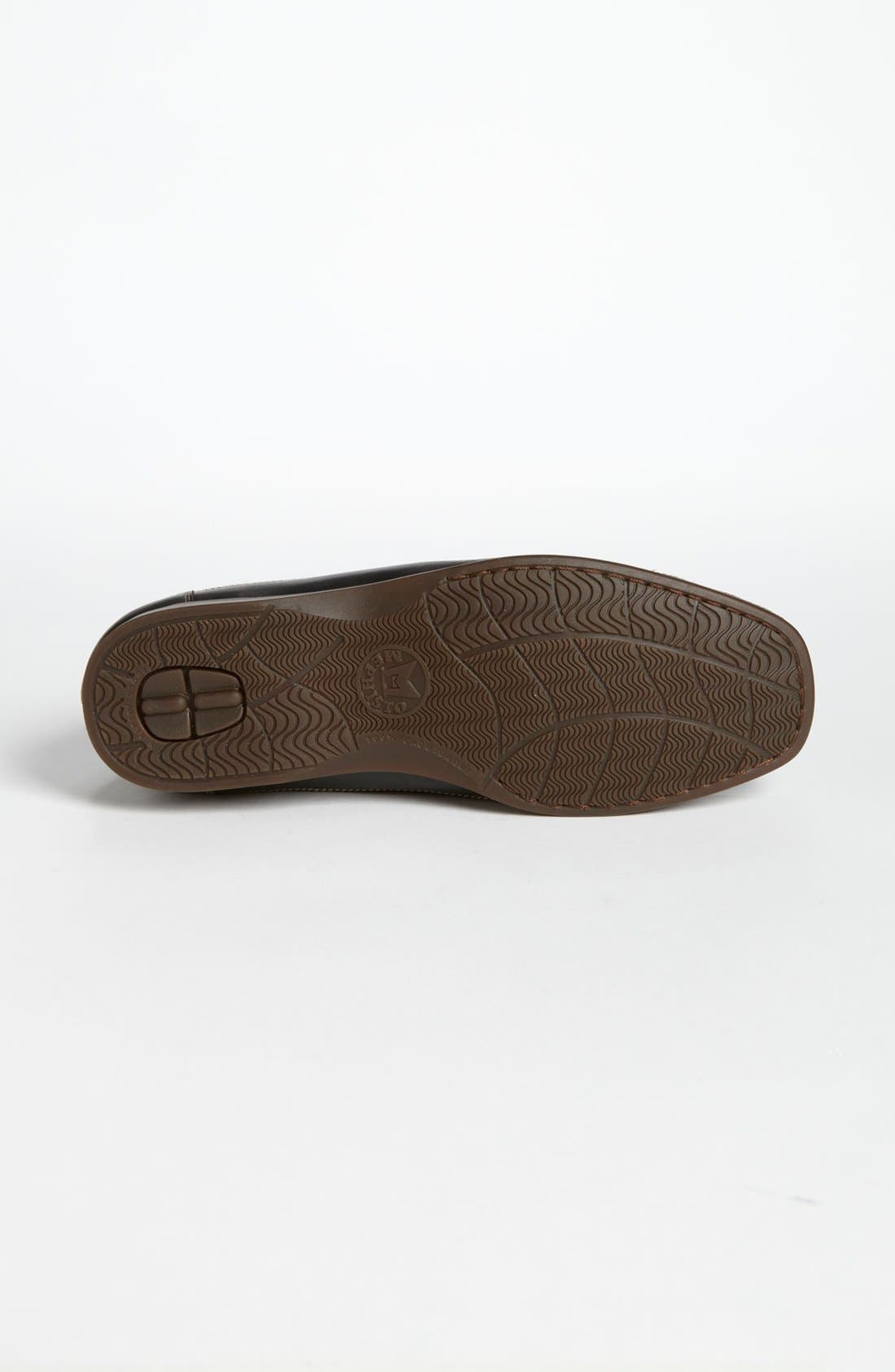 'Baduard' Loafer,                             Alternate thumbnail 4, color,                             Brown Nubuck/ Brown Suede