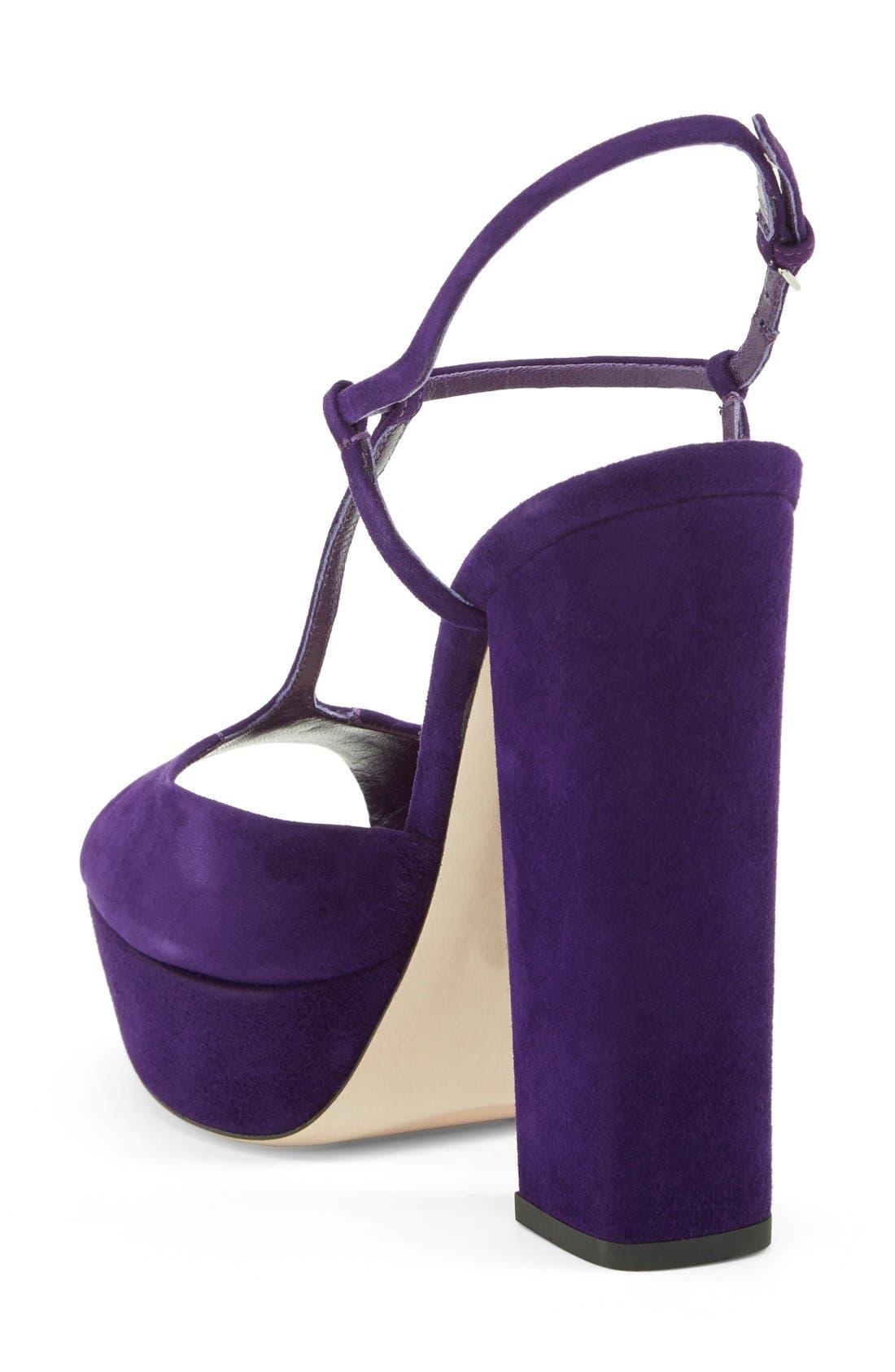Alternate Image 2  - Miu Miu Mary Jane Platform Sandal (Women)