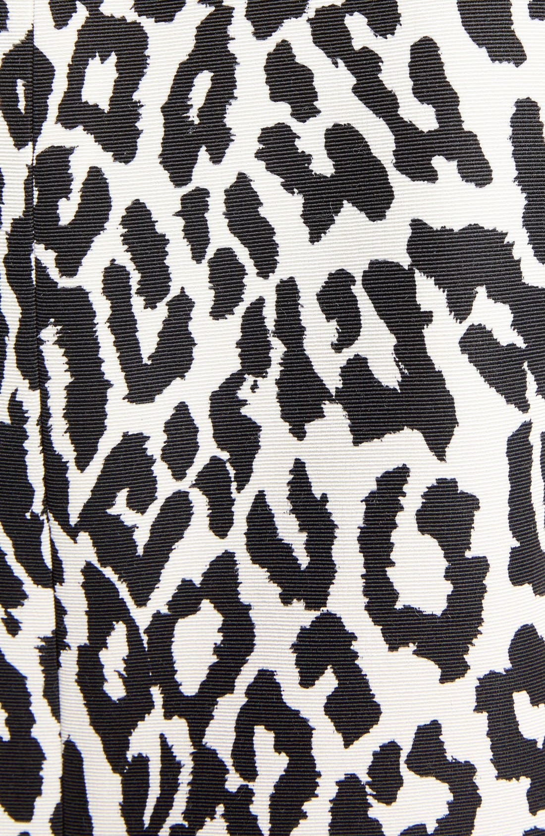 Alternate Image 3  - Saint Laurent Leopard Print Shift Dress
