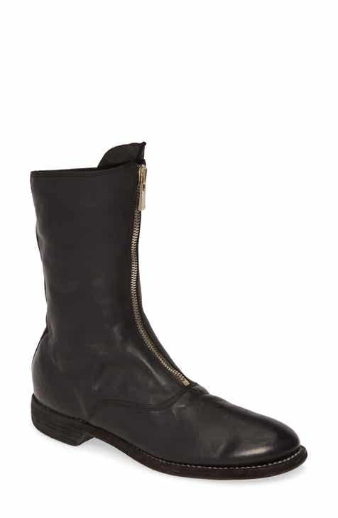0b2833eb18309 Guidi Front Zip Neon Army Boot (Women)