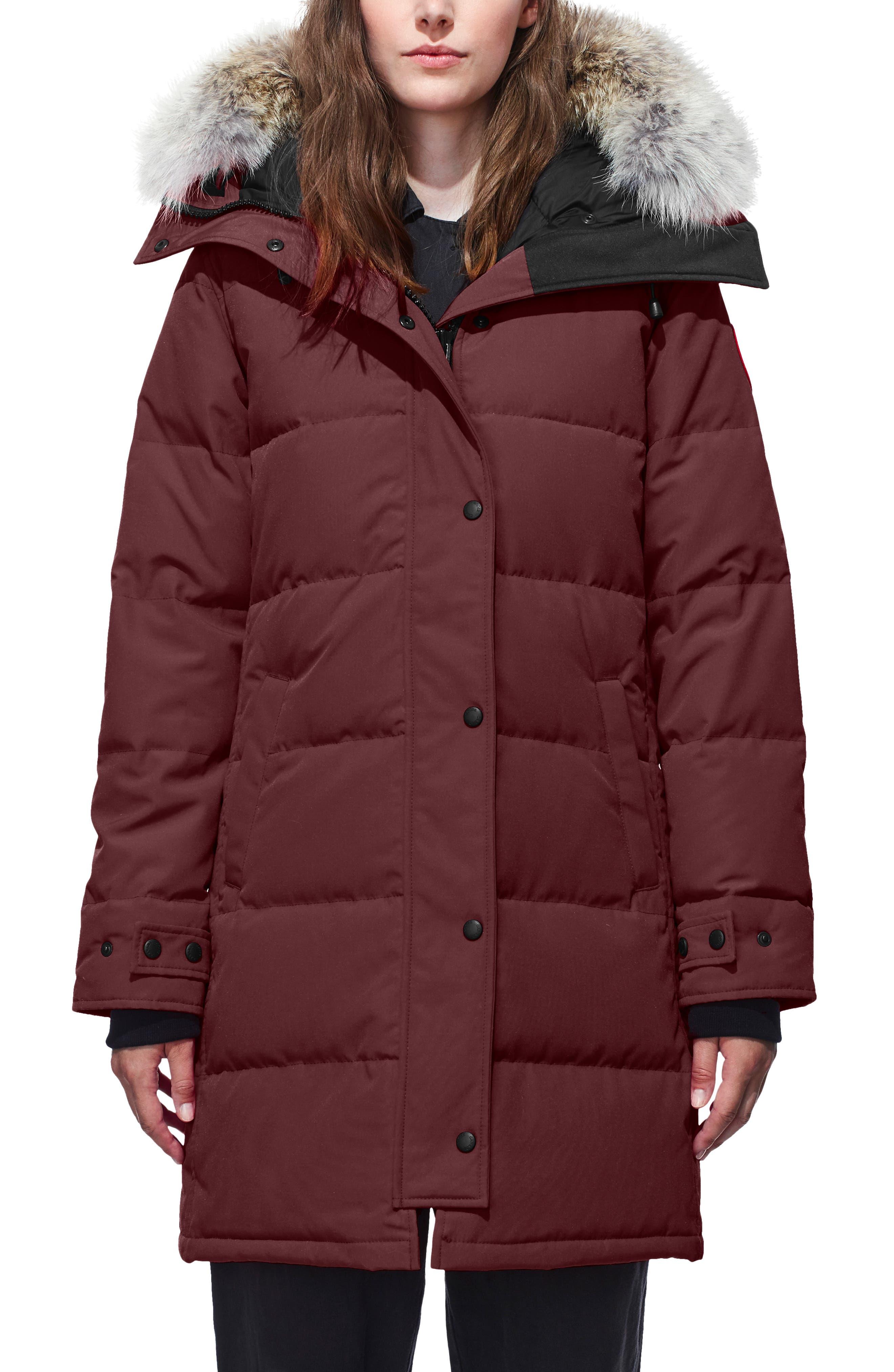 Kids' PBI Chilliwack Hooded Fur Trim Parka Royal Blue Size XS XL
