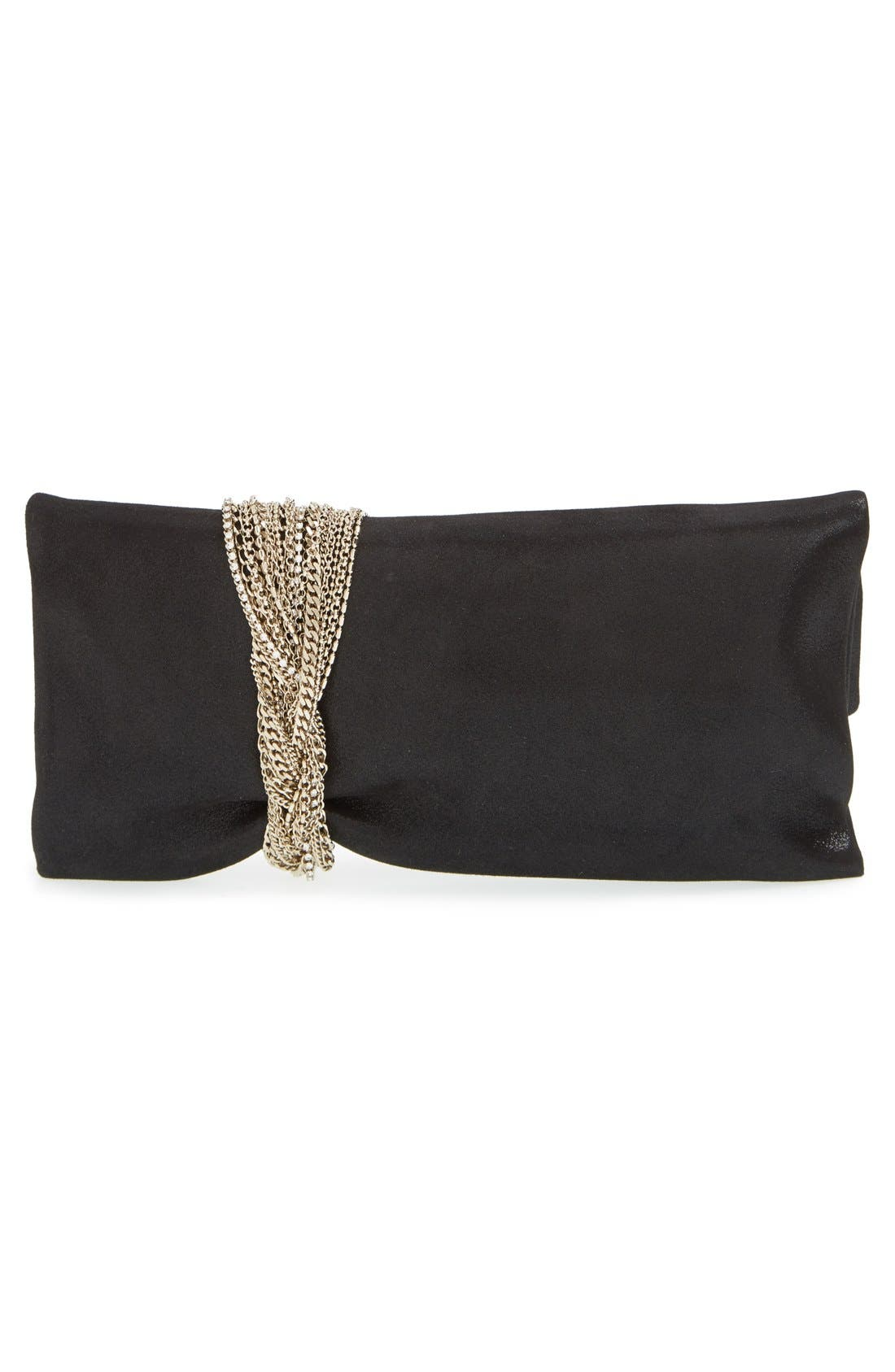 Alternate Image 3  - Jimmy Choo 'Chandra' Leather Clutch
