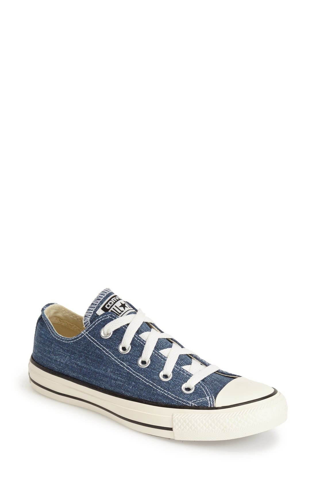 Alternate Image 1 Selected - Converse Chuck Taylor® All Star® Washed Canvas 'Ox' Sneaker (Women)