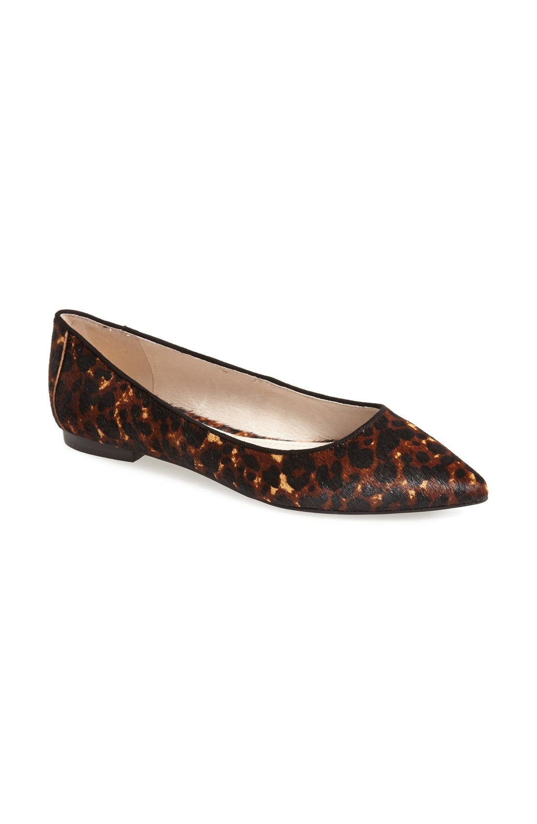 Alternate Image 1 Selected - Vince Camuto 'Hasse' Pointy Toe Flat (Women)