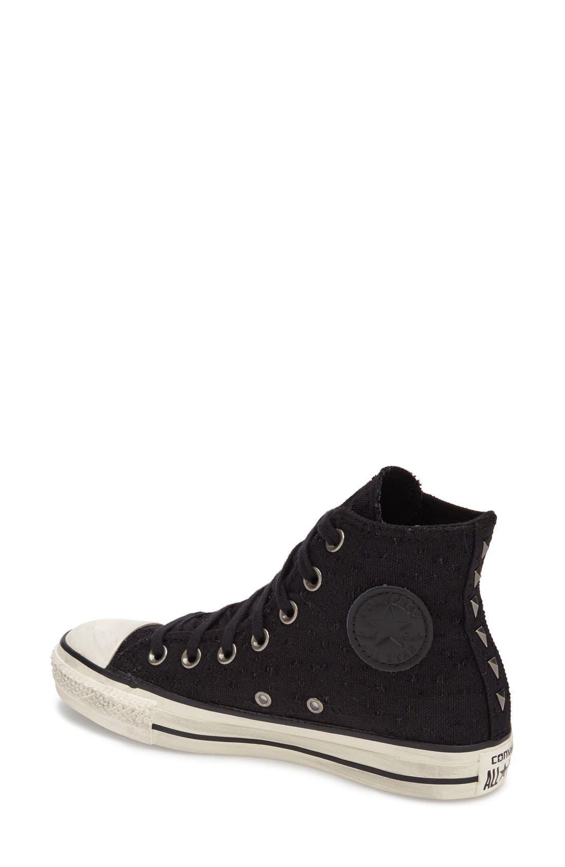 Alternate Image 2  - Converse Chuck Taylor® All Star® 'Star Hardware' High Top Sneaker (Women)