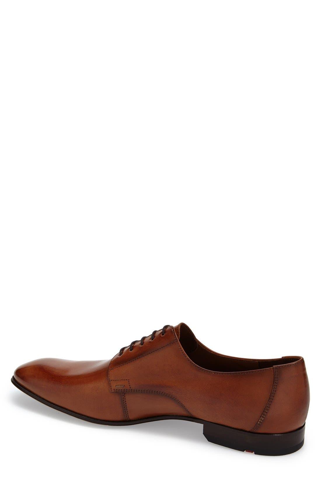 'Laurin' Plain Toe Derby,                             Alternate thumbnail 2, color,                             Light Brown