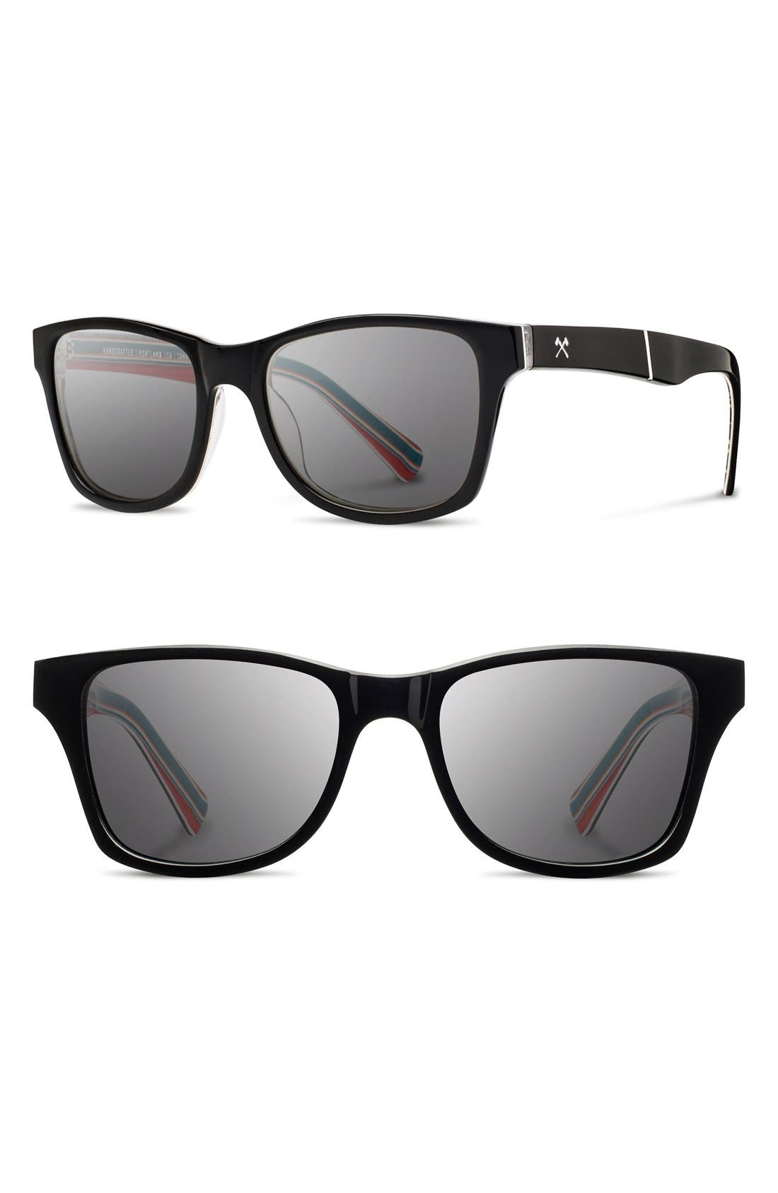 Alternate Image 1 Selected - Shwood 'Canby - Pendleton' 54mm Polarized Sunglasses