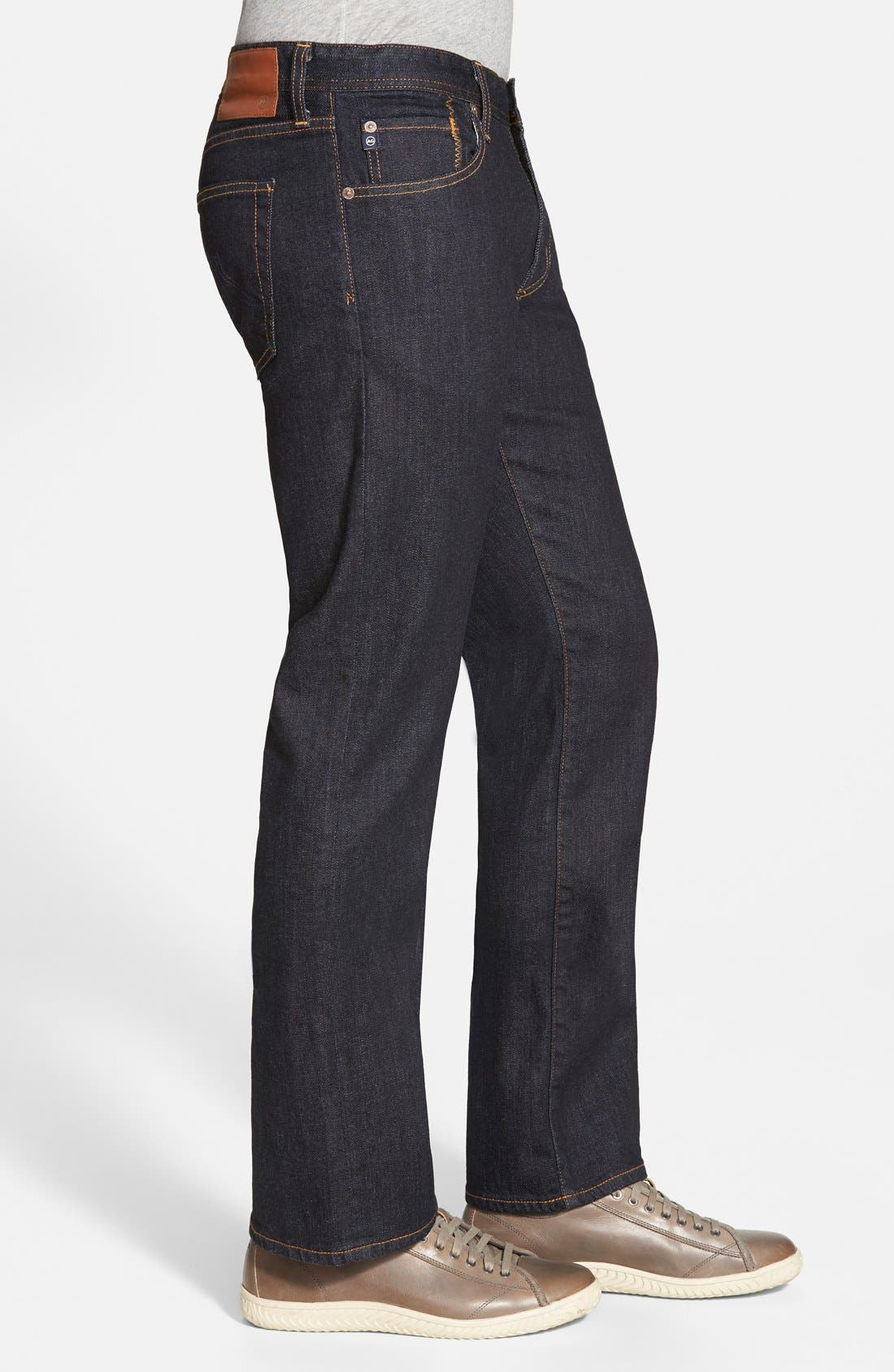 Protégé Straight Leg Jeans,                             Alternate thumbnail 3, color,                             Jack