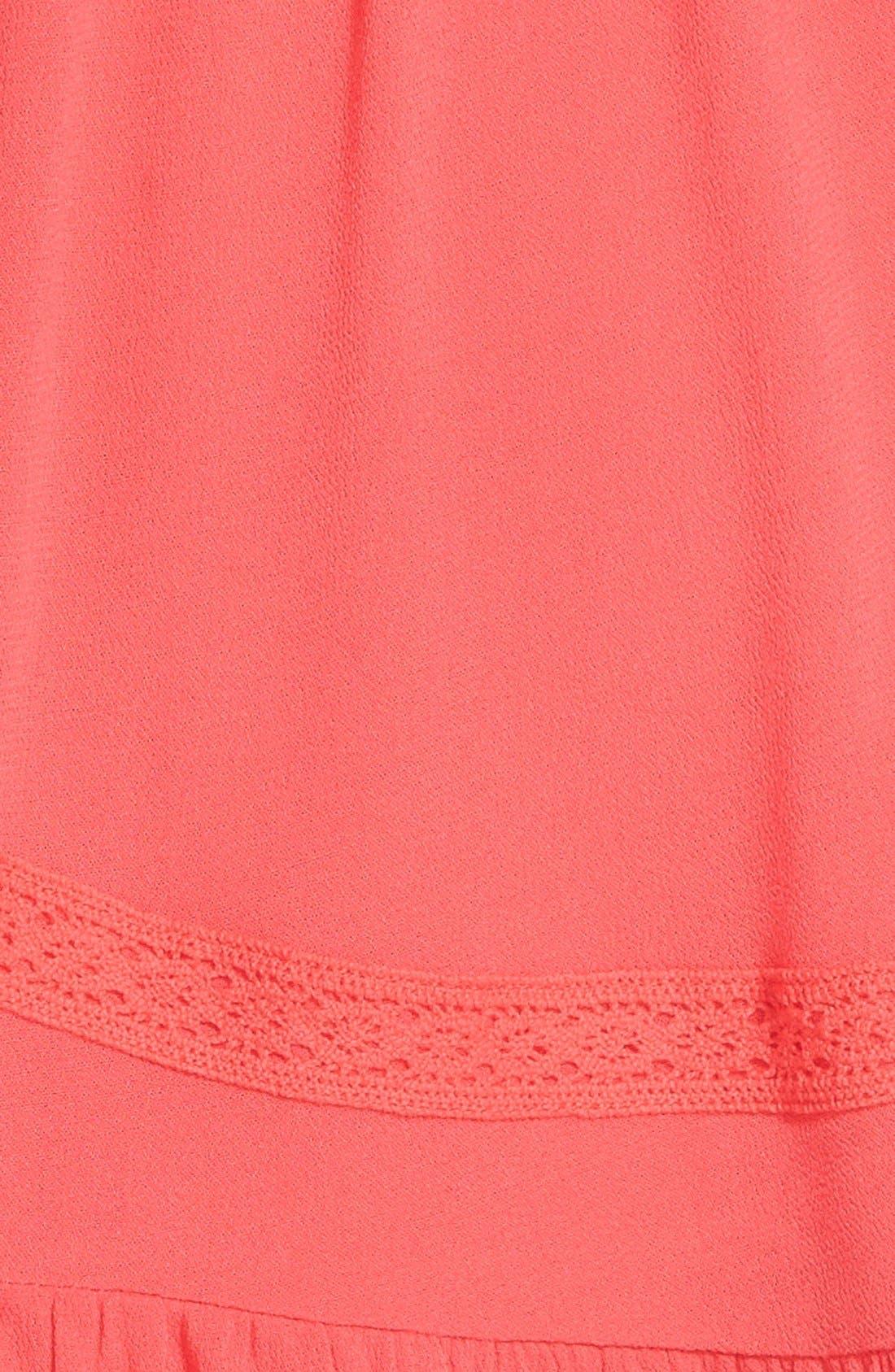 Alternate Image 4  - Socialite Crochet Babydoll Dress