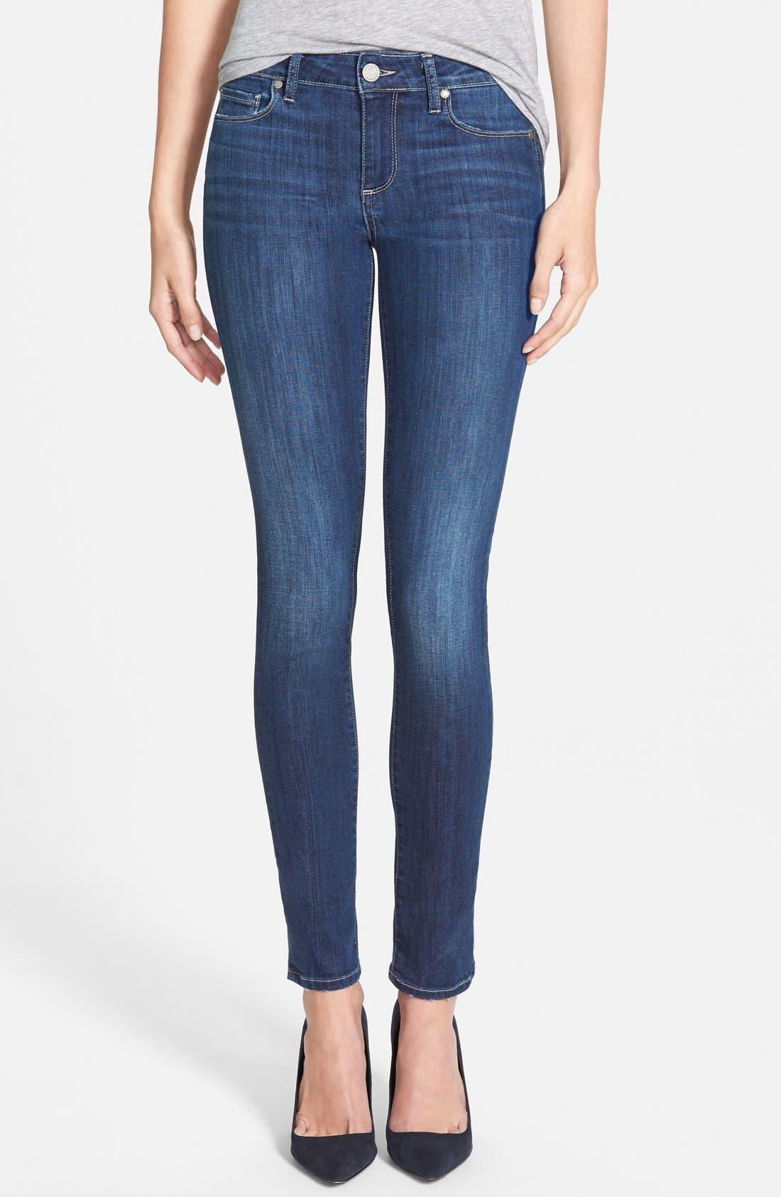 Alternate Image 1 Selected - Paige Denim 'Skyline' Skinny Jeans (Raya) (Nordstrom Exclusive)