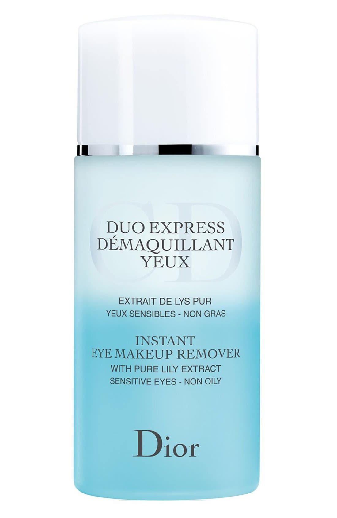 Dior Instant Eye Makeup Remover for Sensitive Eyes