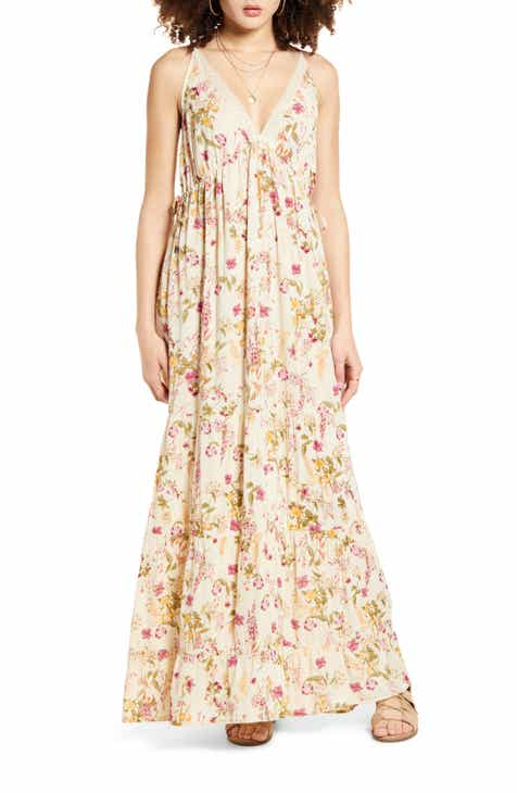 Band of Gypsies Desert Sage Maxi Dress