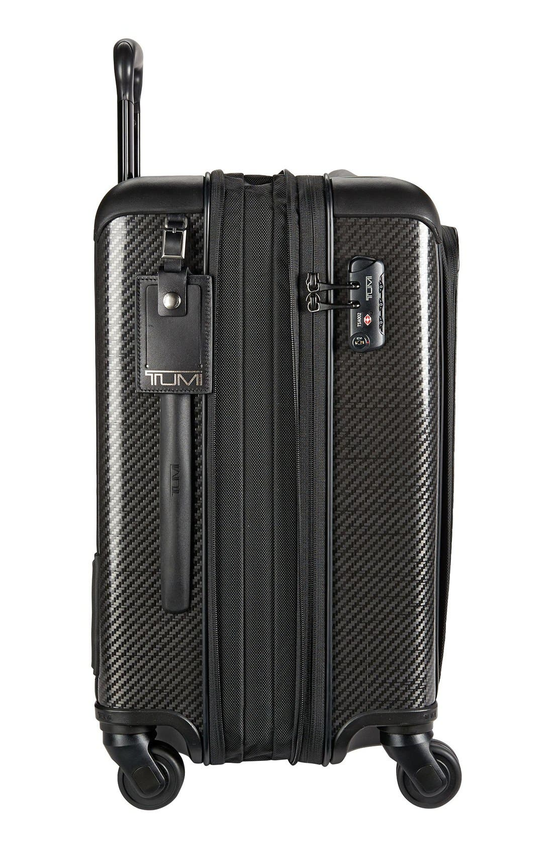 Tegra-Lite<sup>®</sup> Max 22-Inch Continental Expandable Carry-On,                             Alternate thumbnail 4, color,                             Black Graphite