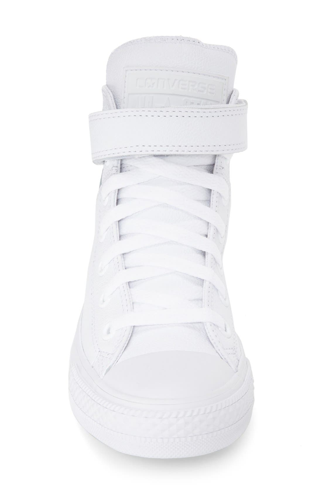 Alternate Image 3  - Converse Chuck Taylor® All Star® 'Brea' Leather High Top Sneaker (Women)