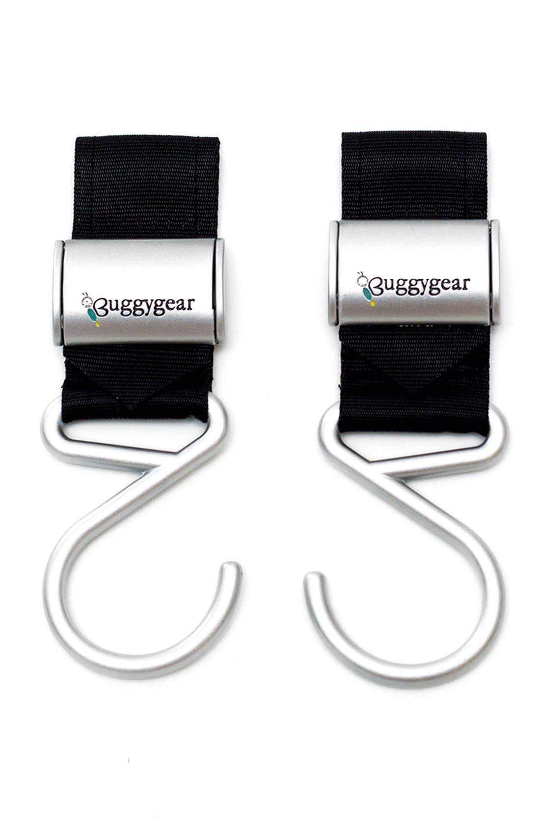 Alternate Image 5  - Buggygear 'Boutique' Stroller Hooks (Set of 2)