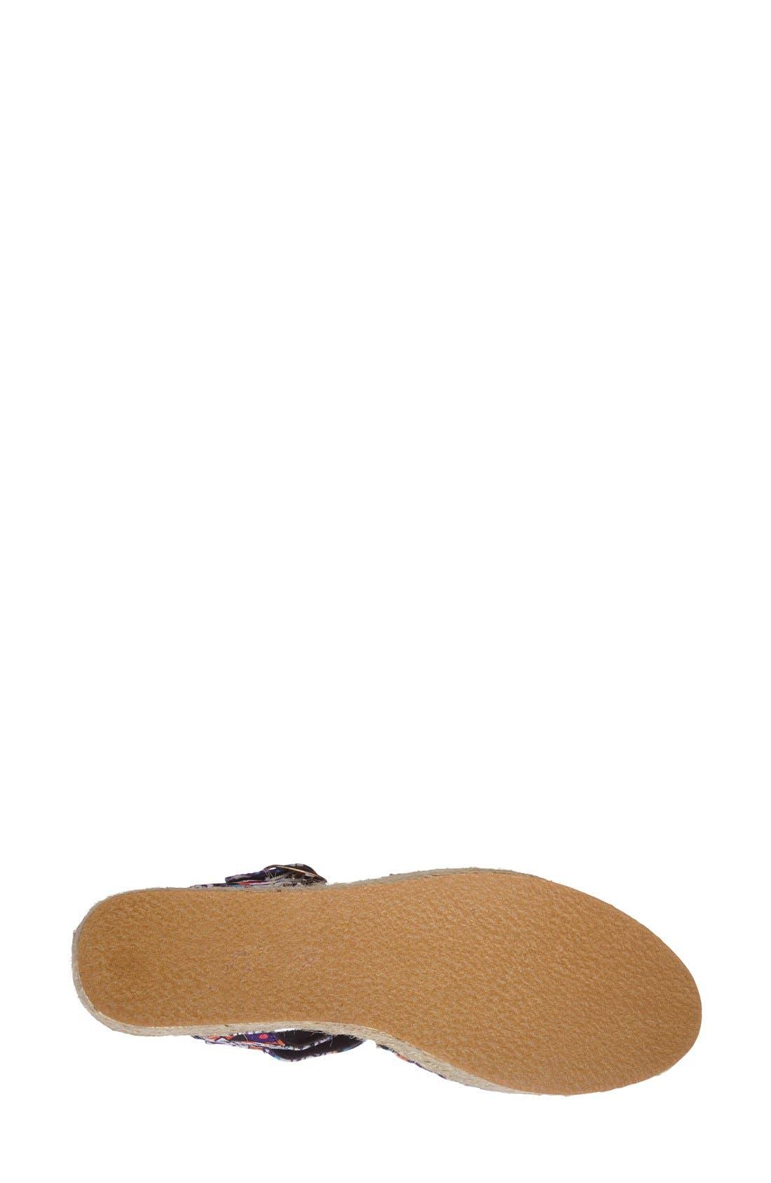 Alternate Image 4  - N.Y.L.A. 'Alstacia' Espadrille Platform Sandal (Women)