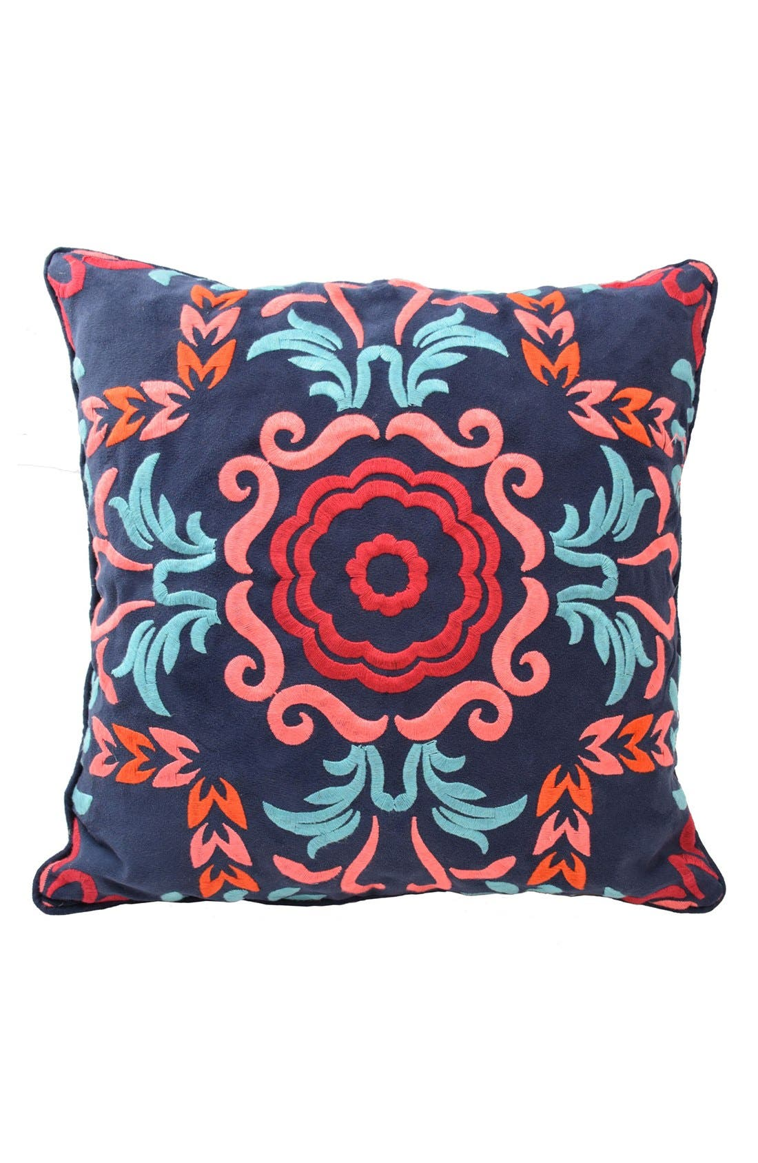 'Viva Mexico' Pillow,                             Main thumbnail 1, color,                             Navy Multi