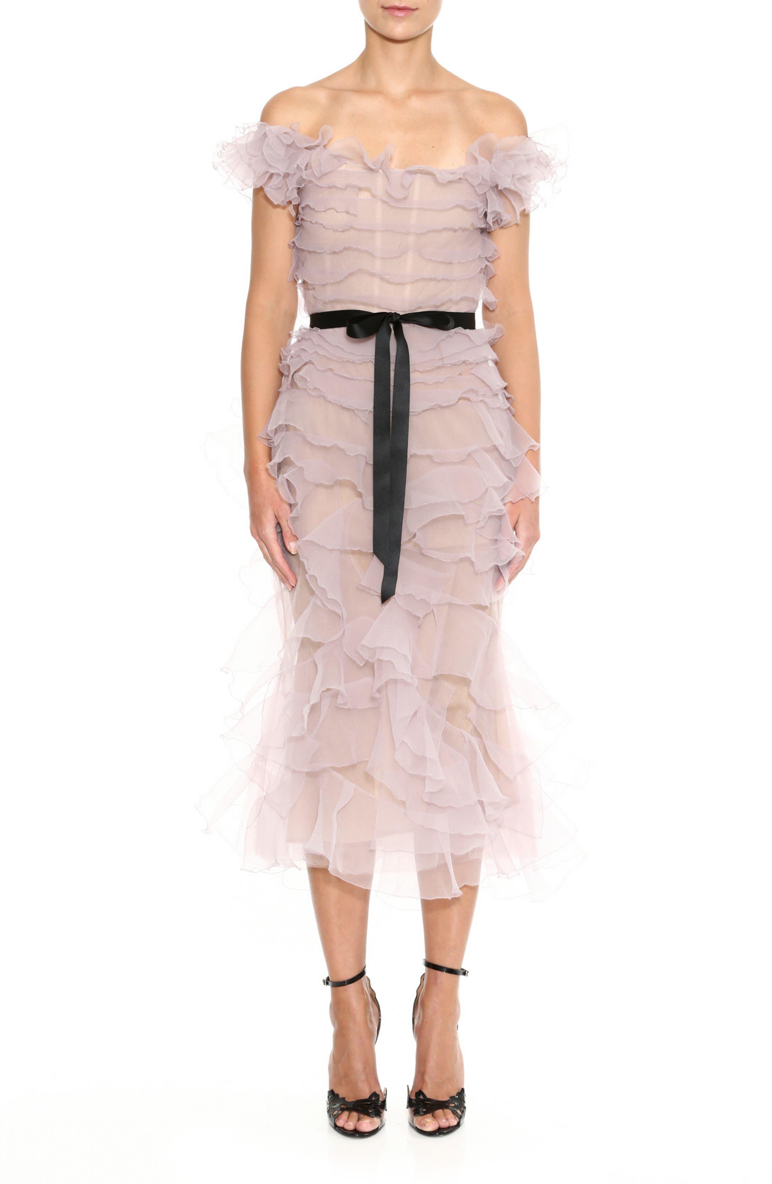Women Lady Peplum Tulle Mesh Hem Ruffle Tutu Fashion Party Jumper Top Swearshirt