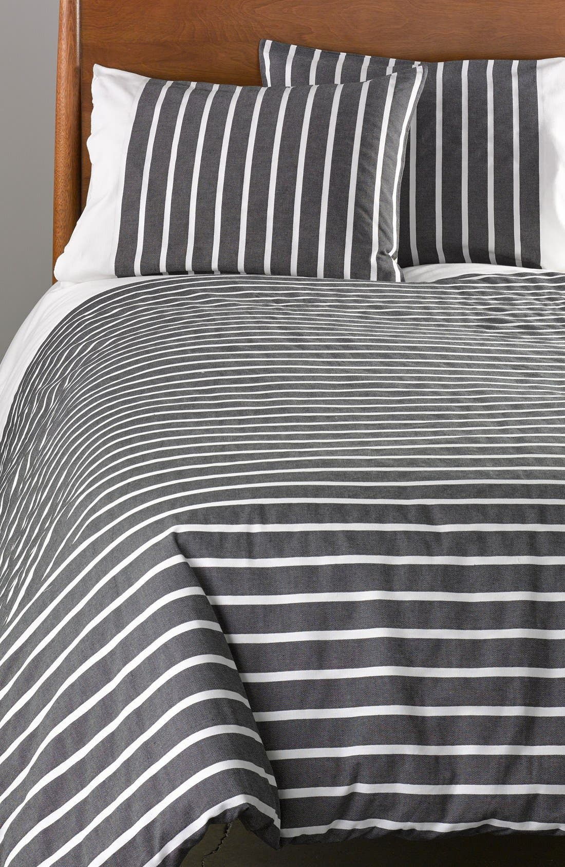 Alternate Image 3  - kate spade new york 'harbour stripe' duvet set
