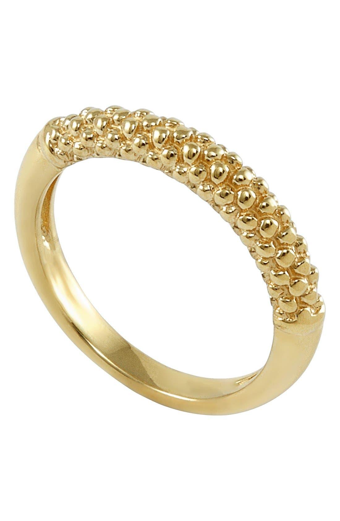 LAGOS Caviar Band Ring