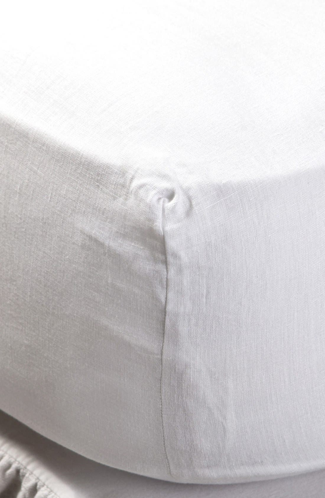 Pom Pom at Home Linen Fitted Sheet
