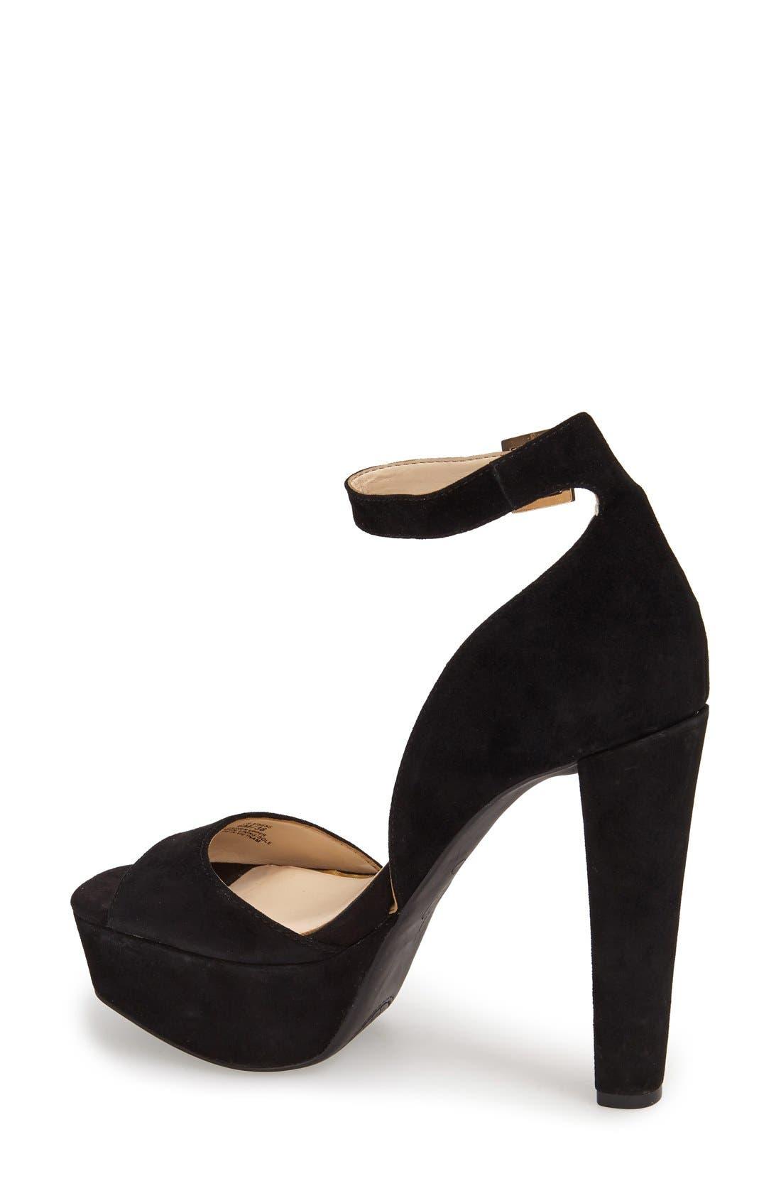 Alternate Image 2  - Jessica Simpson 'Athens' Ankle Strap Platform Sandal (Women)