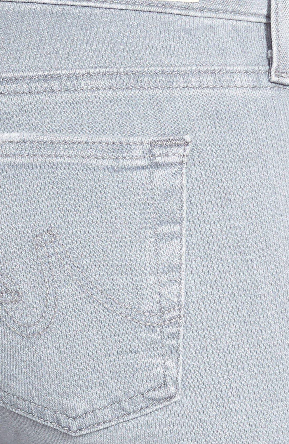 Alternate Image 3  - AG Ankle Super Skinny Jeans (10 Years Light Onyx Destroyed)