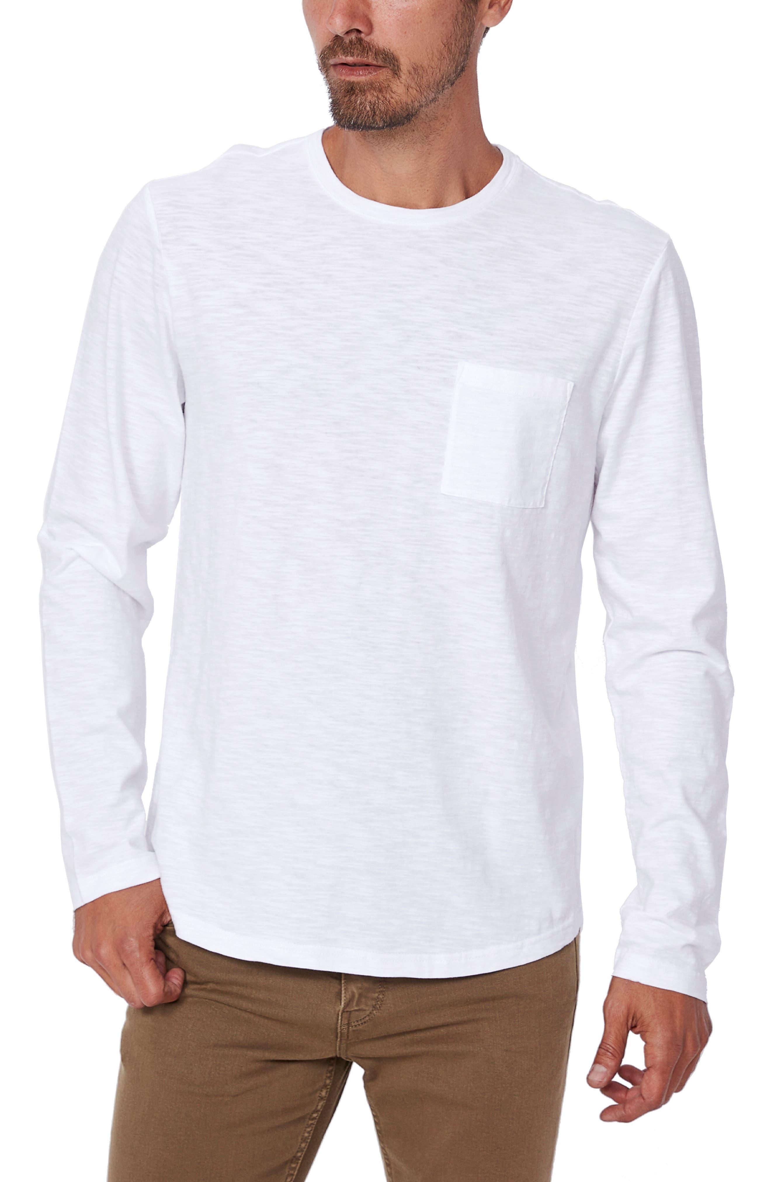LL Bean Boys size L T-shirt Tee Solid Kids Shirt Top Long Sleeve Black Designer