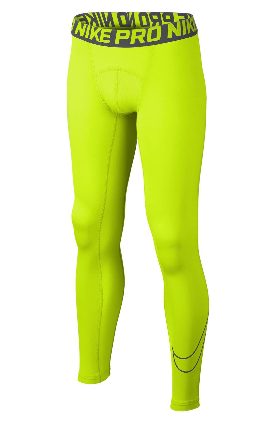 Alternate Image 1 Selected - Nike Dri-FIT Compression Tights (Little Boys & Big Boys)