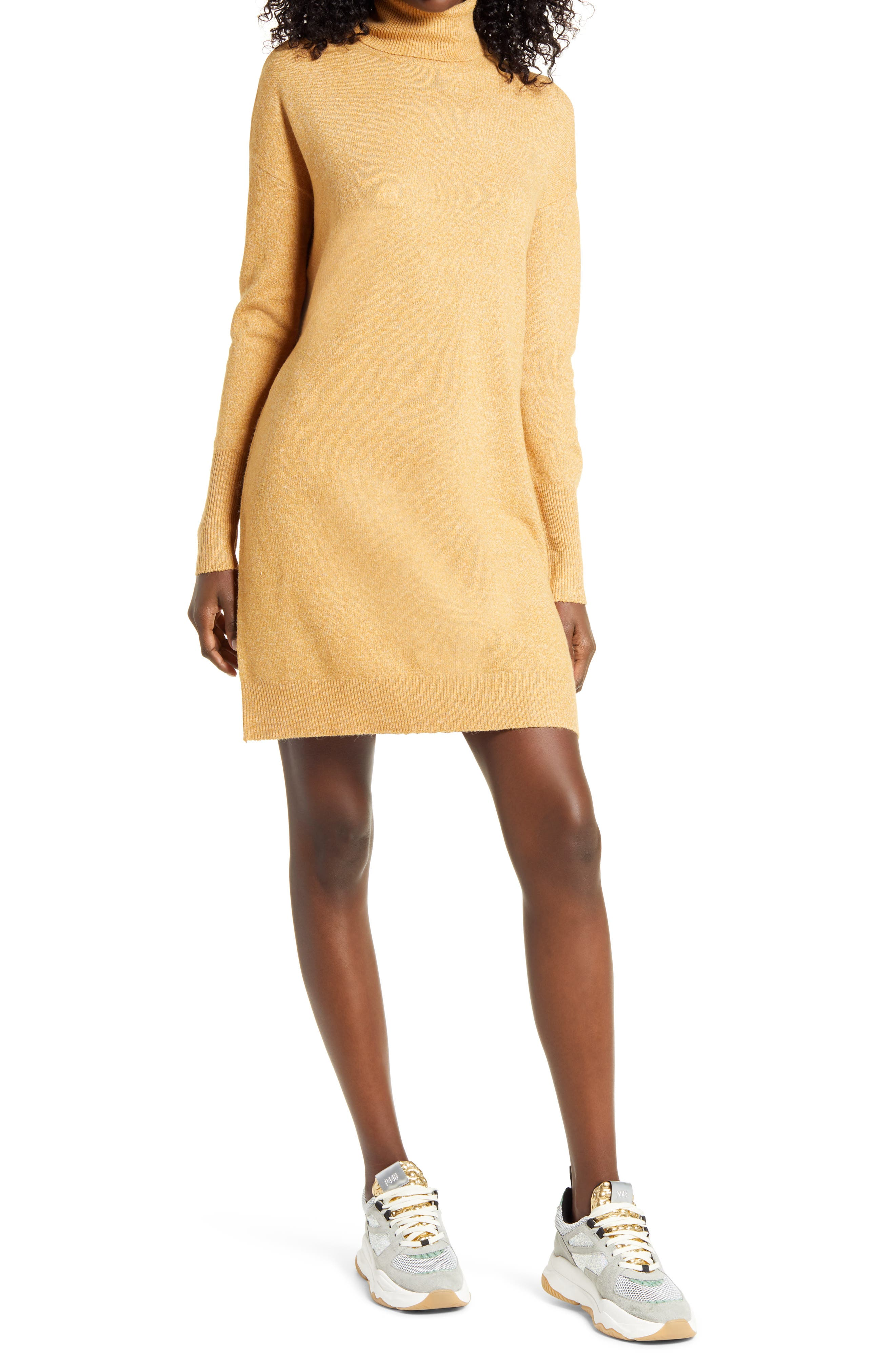 Vero Moda Vmbrilliant LS Rollneck Dress Noos Vestito Donna