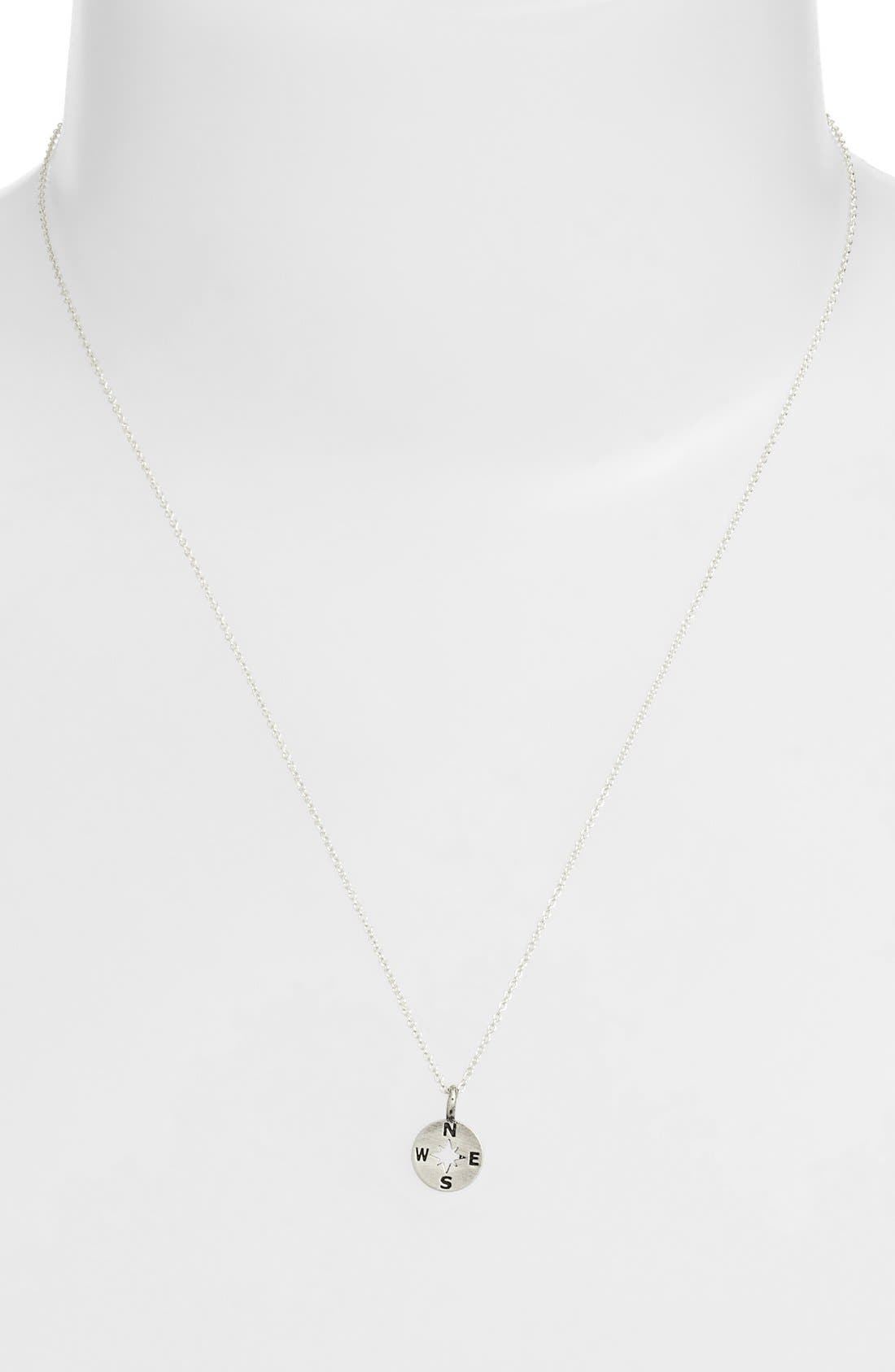 Alternate Image 3  - Dogeared 'Going Places' Compass Pendant Necklace