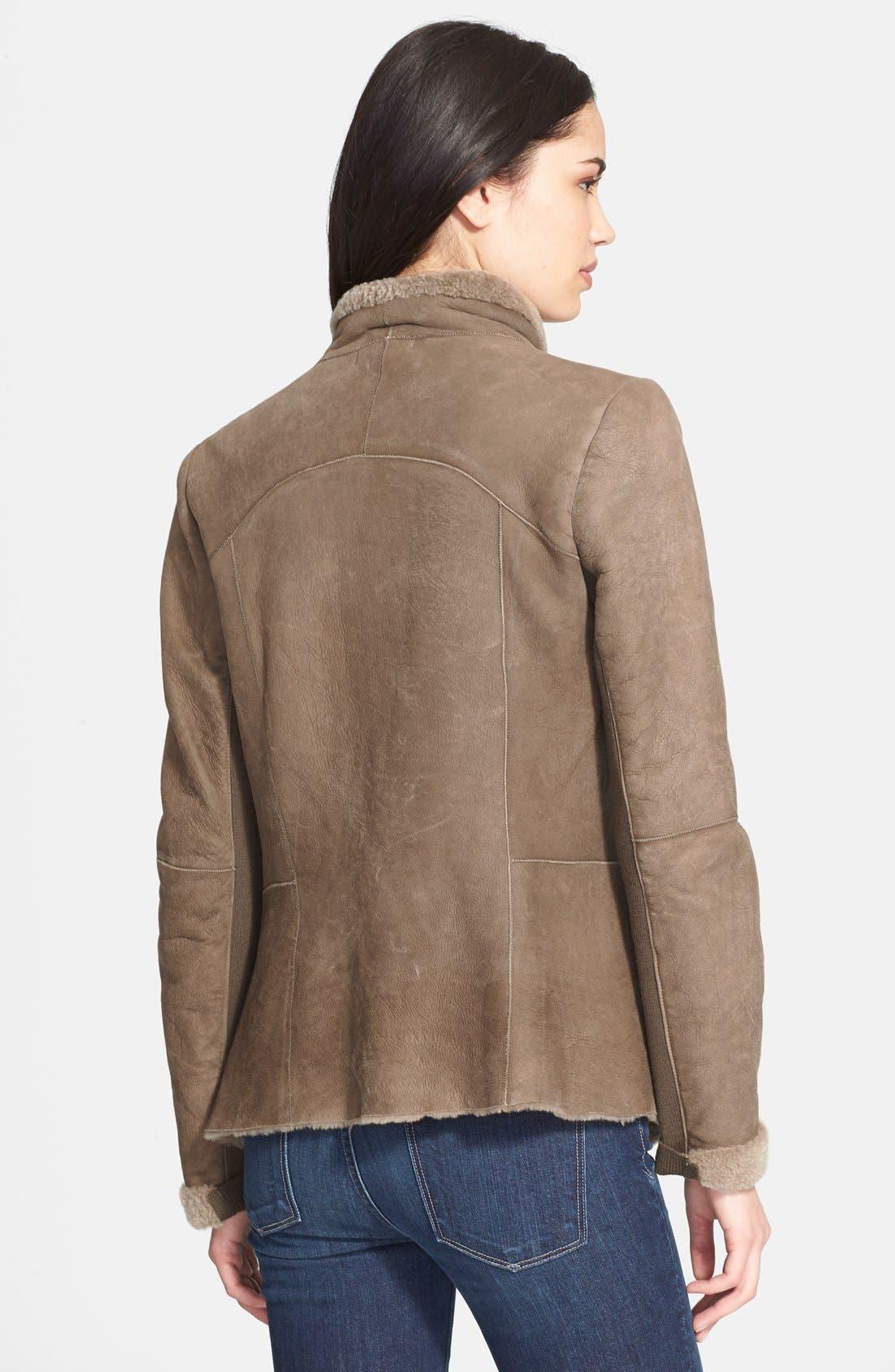 Alternate Image 2  - Vince 'Cascade' Genuine Shearling Jacket