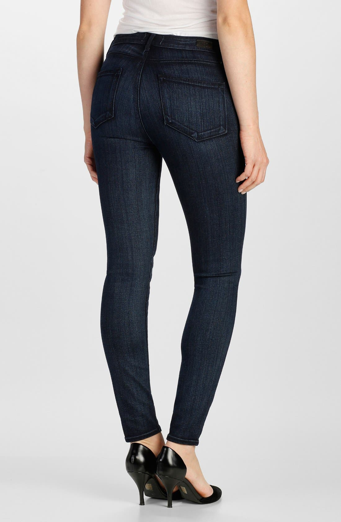 Alternate Image 2  - Paige Denim 'Transcend - Hoxton' High Rise Ultra Skinny Jeans (Georgie)