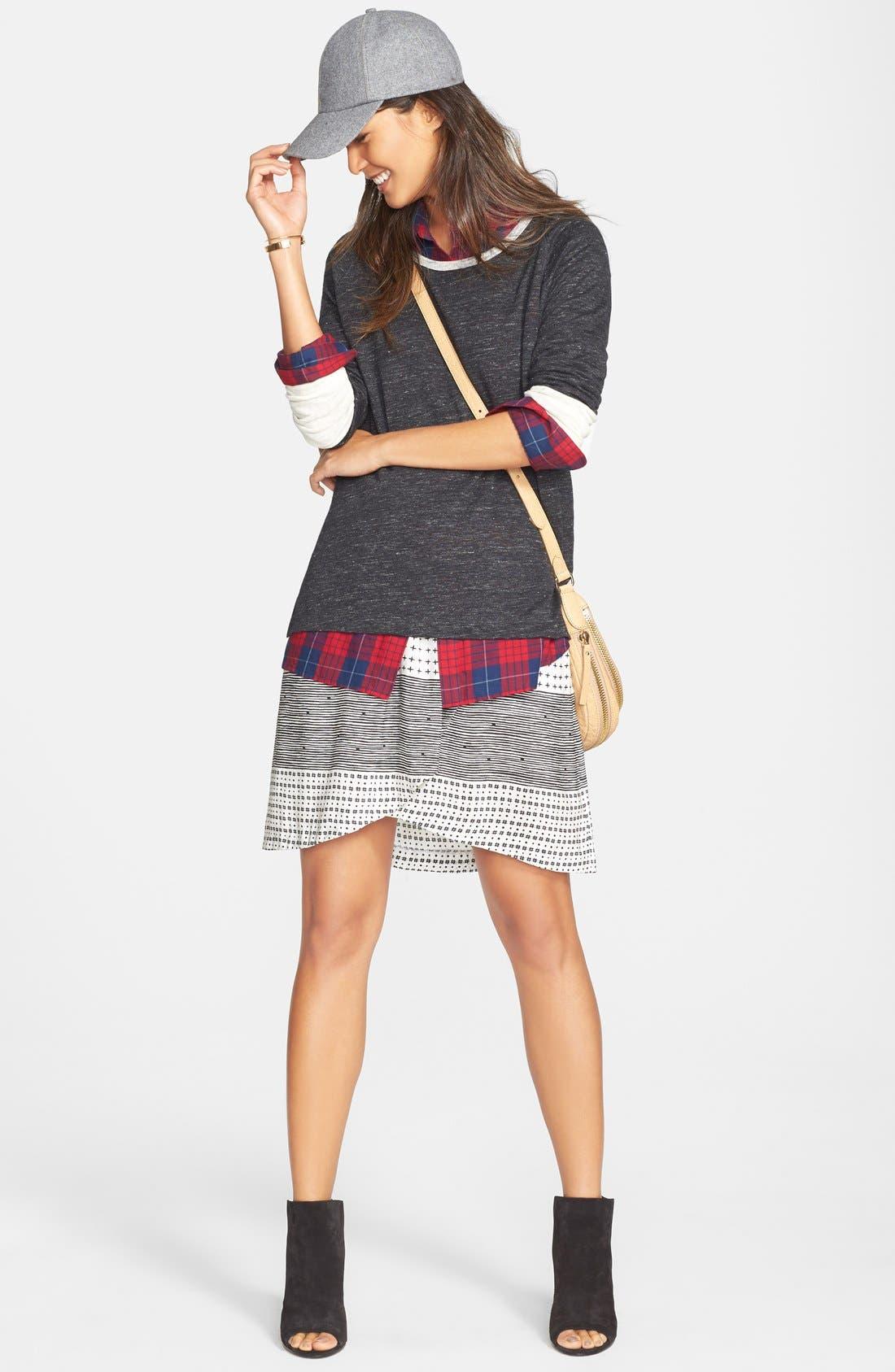 Alternate Image 2  - Madewell 'Edina Plaid' Oversize Boyshirt