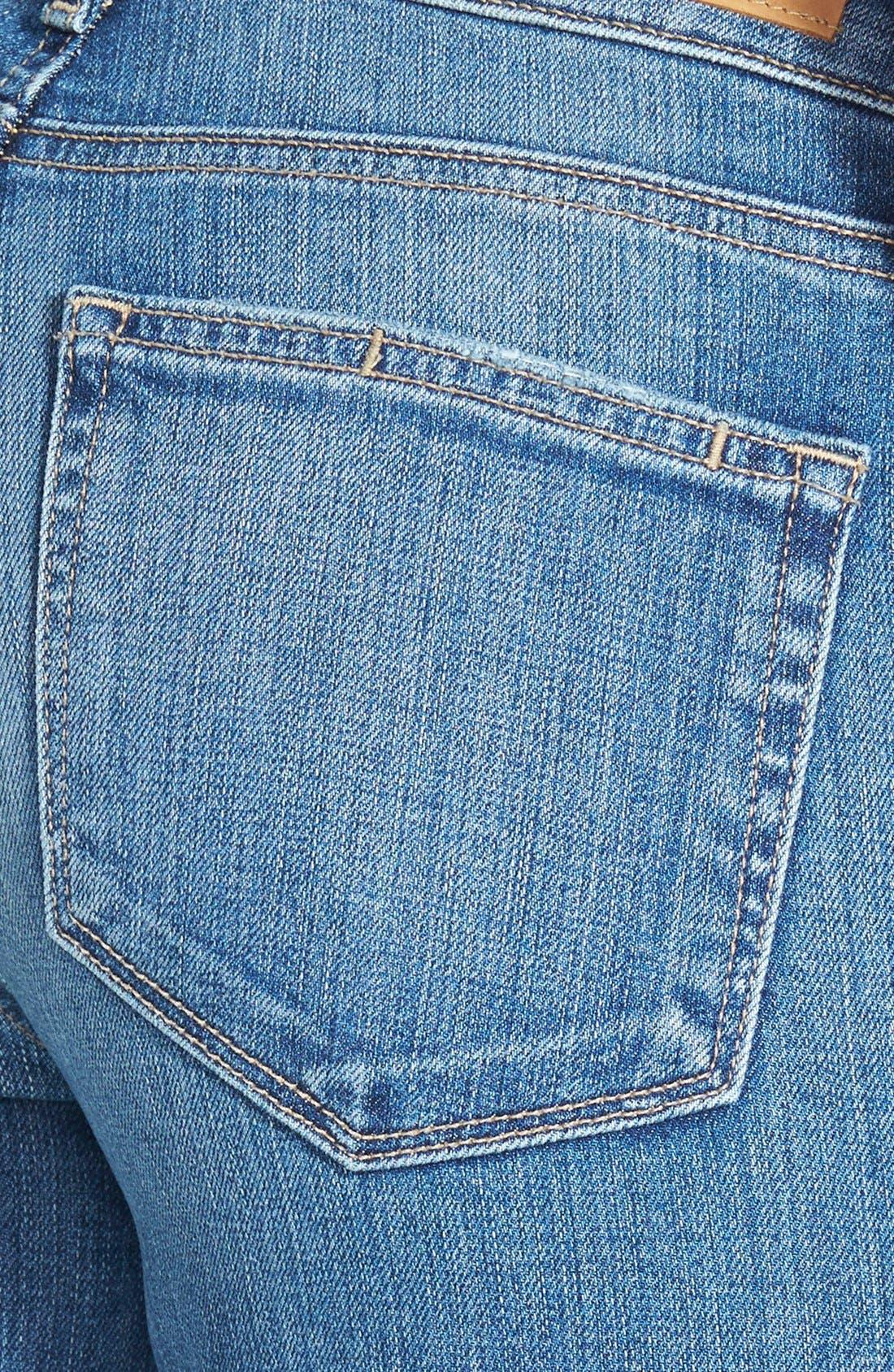 Alternate Image 3  - Paige Denim 'Skyline' Ankle Peg Skinny Jeans (Esme Destructed)