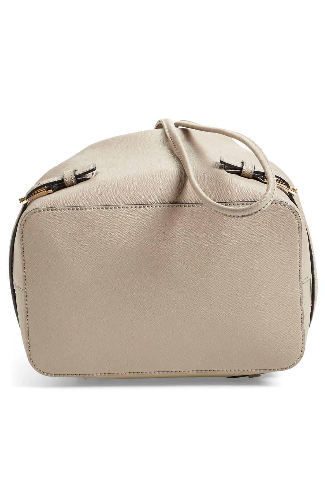 Alternate Image 6  - Tory Burch 'Robinson' Saffiano Leather Bucket Bag
