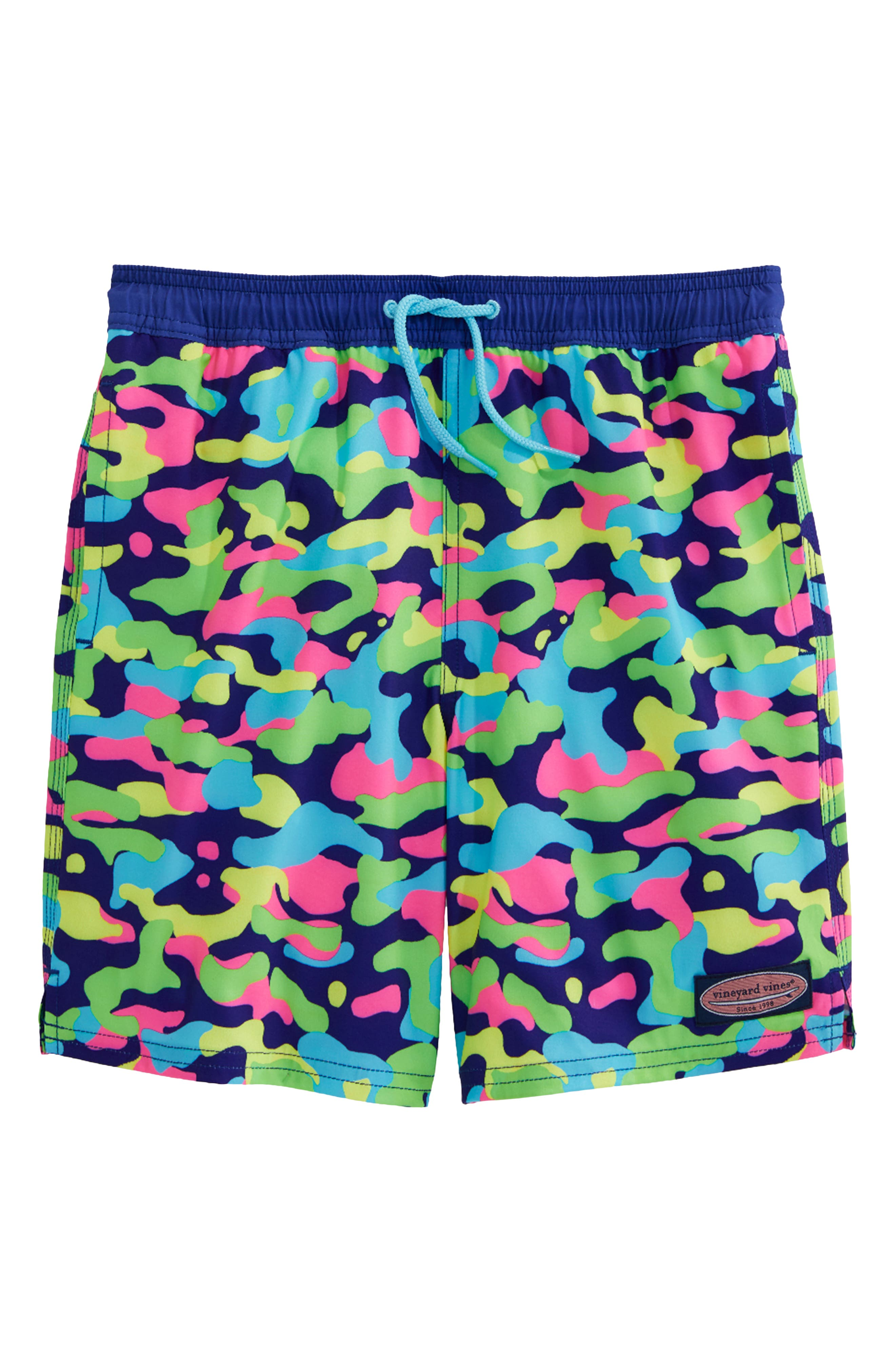 hype Junior Boys Space Storm Swim Shorts in Multi Colour Ribbed Waistband