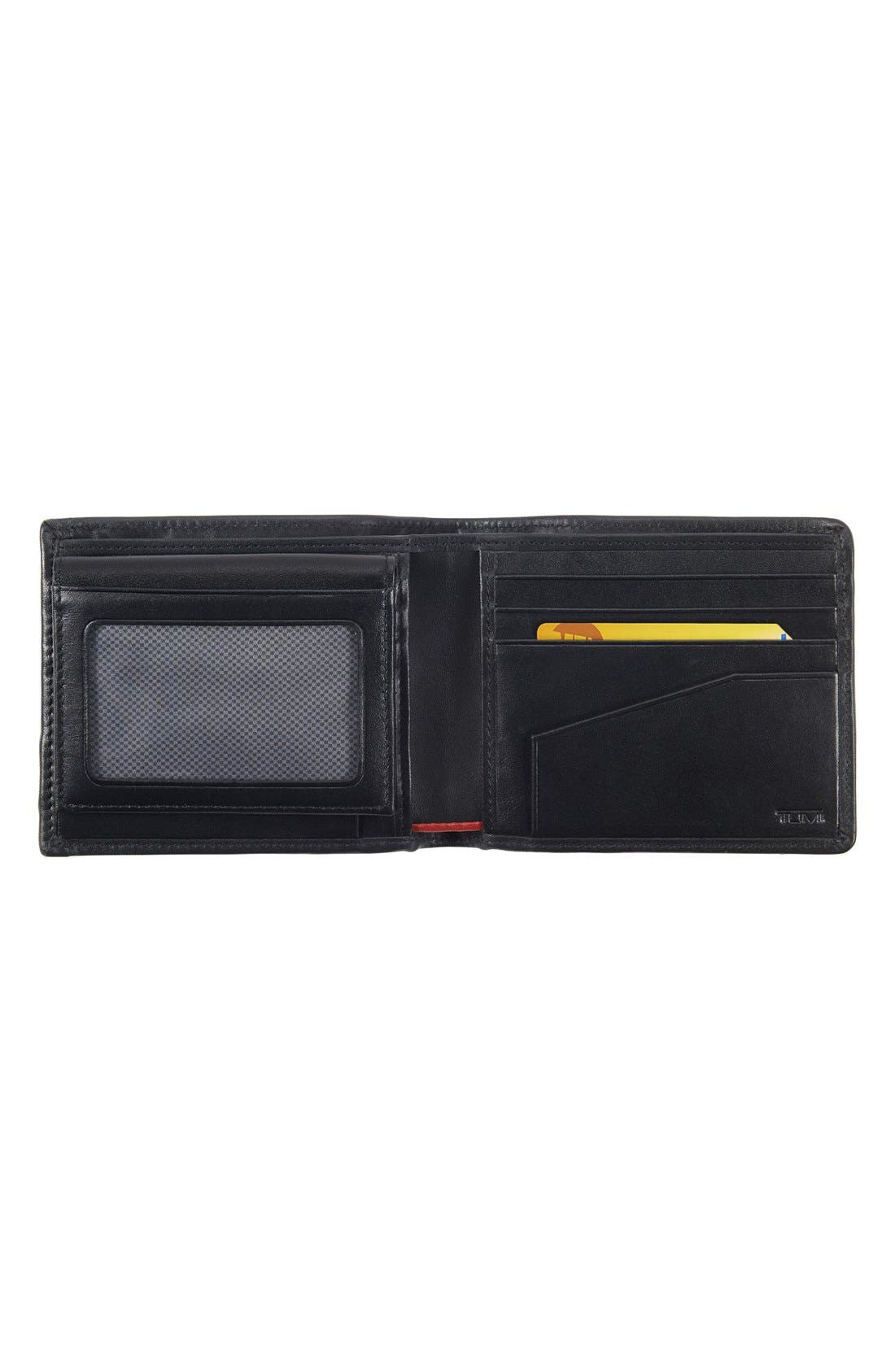 Alpha Global - ID Lock<sup>™</sup> Wallet with Removable Passcase,                             Alternate thumbnail 3, color,                             Black